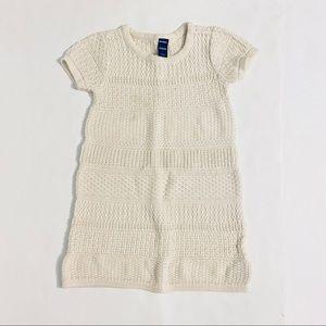 Old Navy Toddler Cream Sweater Dress